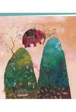 Correspondances Izou Carte double L'éléphant funambule