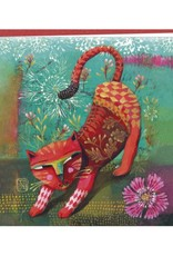 Izou Carte double Red cat