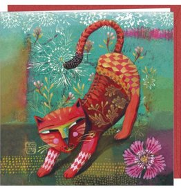 Carte double Red cat