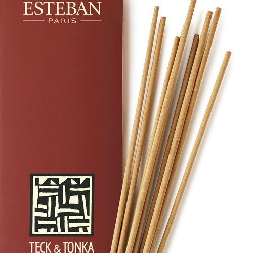 Esteban Esteban Teck & tonka - Bâtonnets d'encens