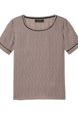 Maison Scotch Maison Scotch Printed short-sleeved top