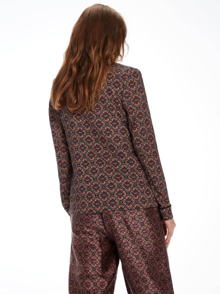 Maison Scotch Maison Scotch Blazer drapé style pyjama