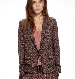 Maison Scotch Blazer draped style pajamas