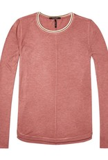 Maison Scotch Maison Scotch Maison Scotch Long sleeved lurex top