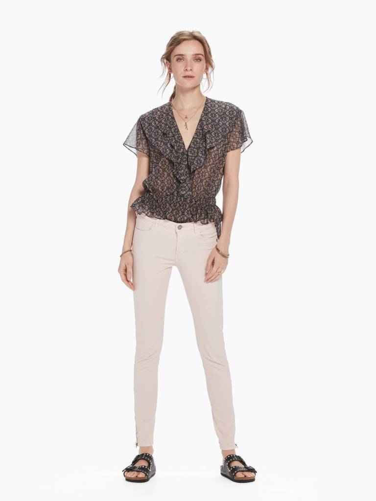 Maison Scotch Maison Scotch Skinny pants in satin fabric