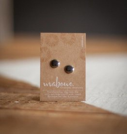 Maboue Mirror porcelain studs