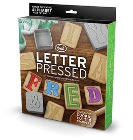 Fred Letter pressed - Emporte-pièces