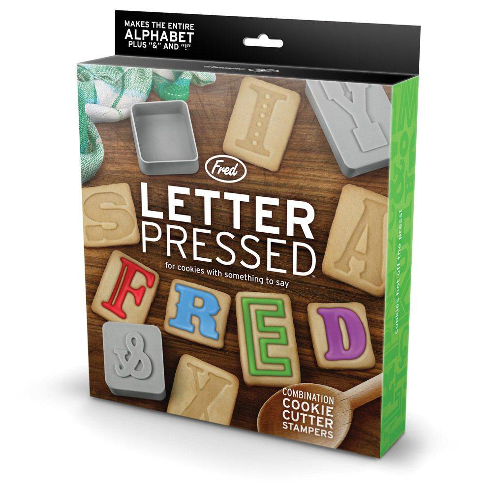 Fred Fred Letter pressed - Emporte-pièces
