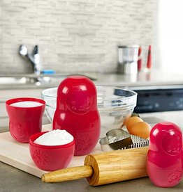 Fred M-Cups - Measuring cups (red)