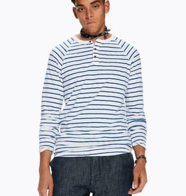 Scotch & Soda Scotch & Soda T-shirt grandad en jersey flammé