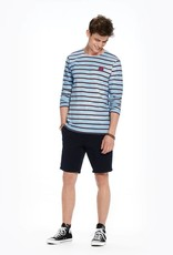 Scotch & Soda Scotch & Soda T-shirt à rayures marines