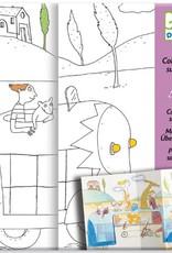 Djeco Djeco  Coloring book Cache-cache