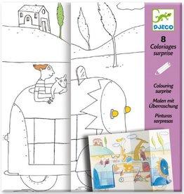 Djeco Djeco Coloriages surprises Cache-cache