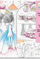 Djeco Djeco Coloring book Portes de Pupi