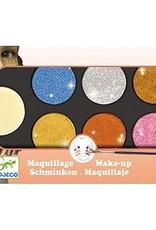 Djeco DJ09232 Maquillage / Palette 6 couleurs / Métallique