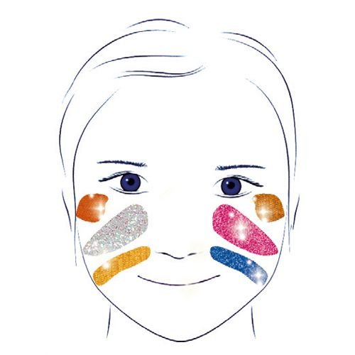 Djeco Djeco Maquillage / Palette 6 couleurs