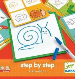 Djeco Djeco Step by step animaux