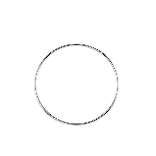 Simple hoop earring - large