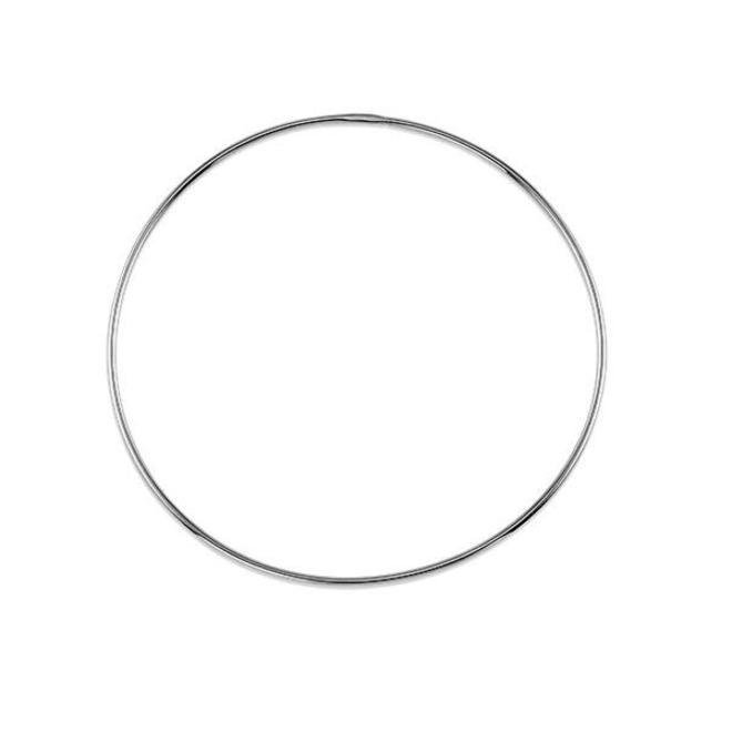 Simple hoop earring - extra large