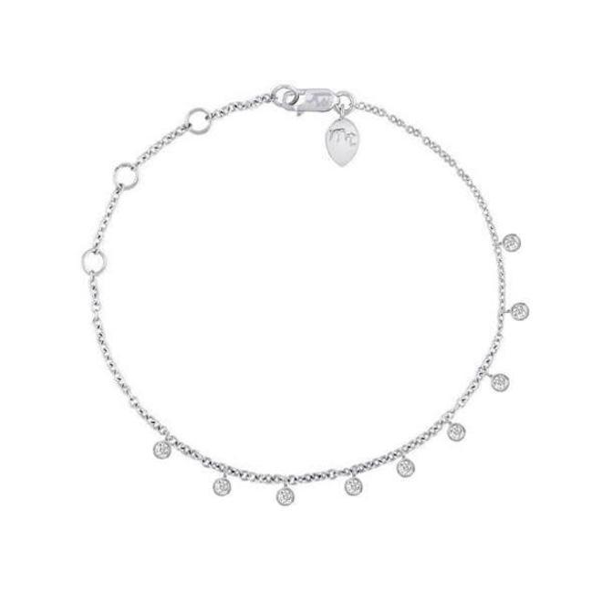 Diamond dangle bracelet