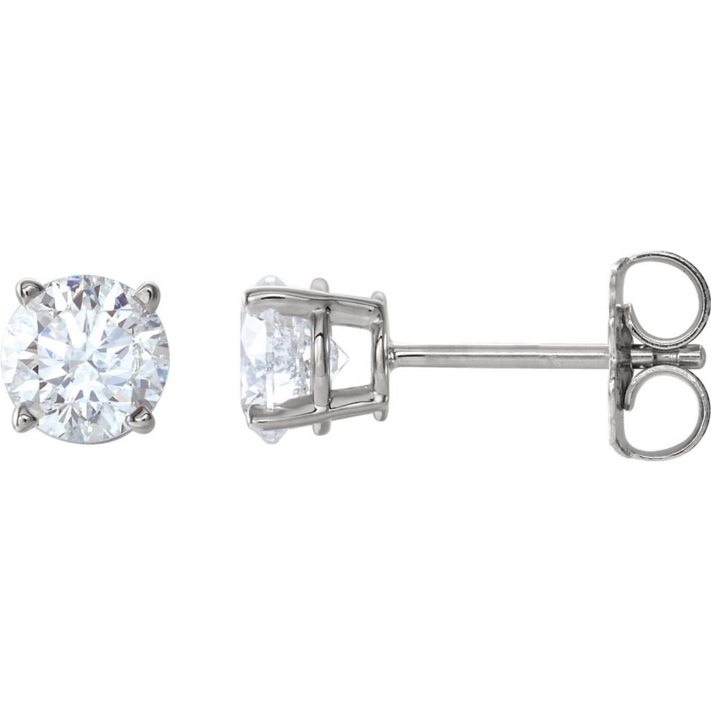 d16628374 0.46ct tw Classic diamond stud earrings - Minichiello Jewellers