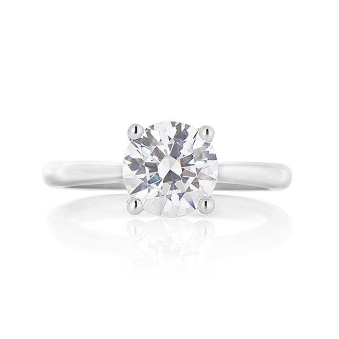 The Stefani - diamond solitaire engagement ring