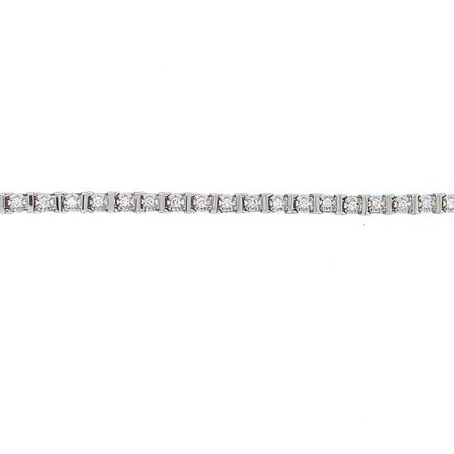 Diamond tennis bracelet  0.50tw