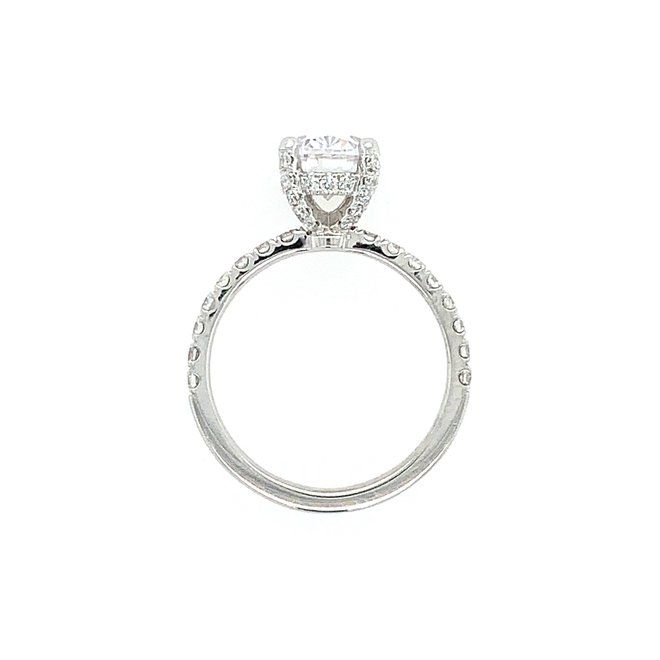 The Sienna - custom oval engagement ring