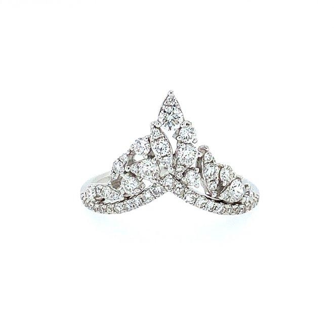 Diamond tiara band