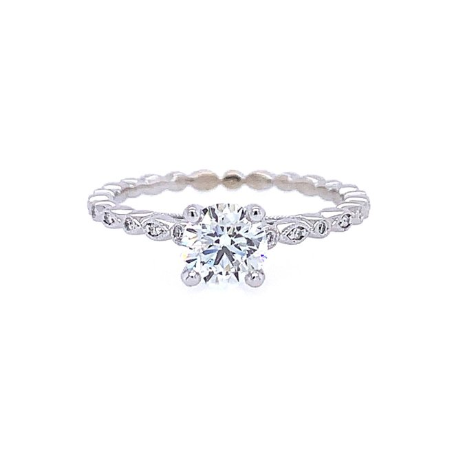 The Millie - custom diamond engagement ring