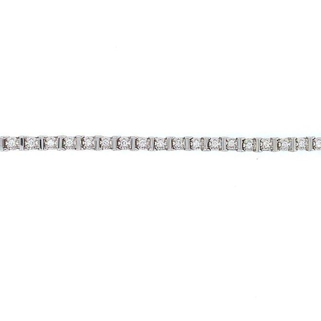 Diamond tennis bracelet  1.00ct tw