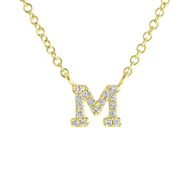 Personalized diamond initial pendant – as seen on Jillian Harris