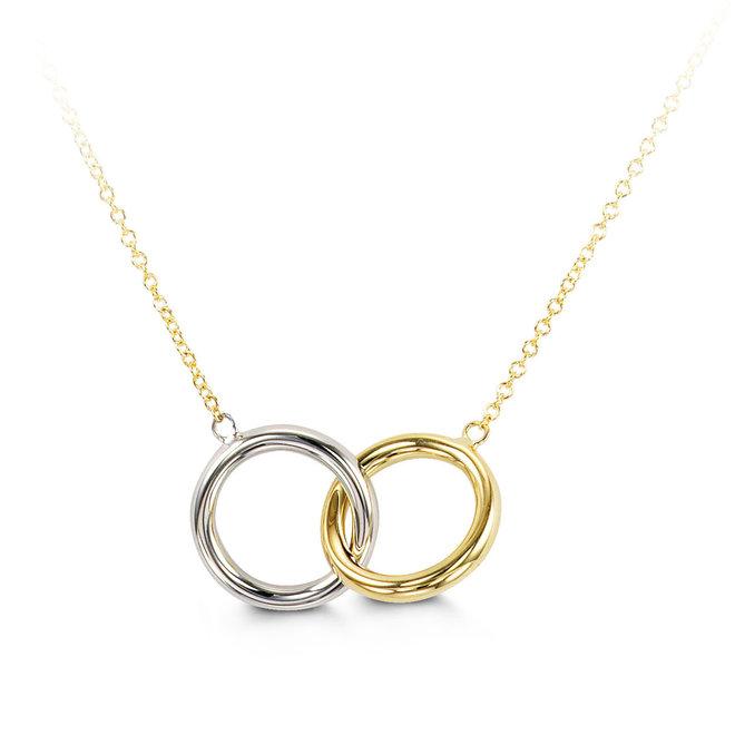 Interlocking circle pendant