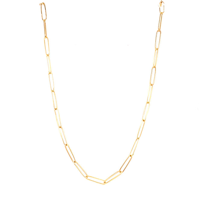 Medium Cable link necklace