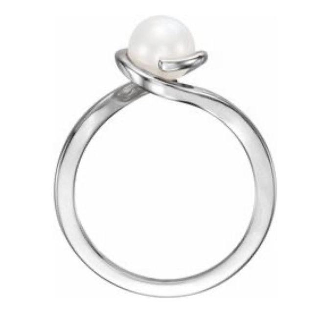 Contemporary Pearl Ring