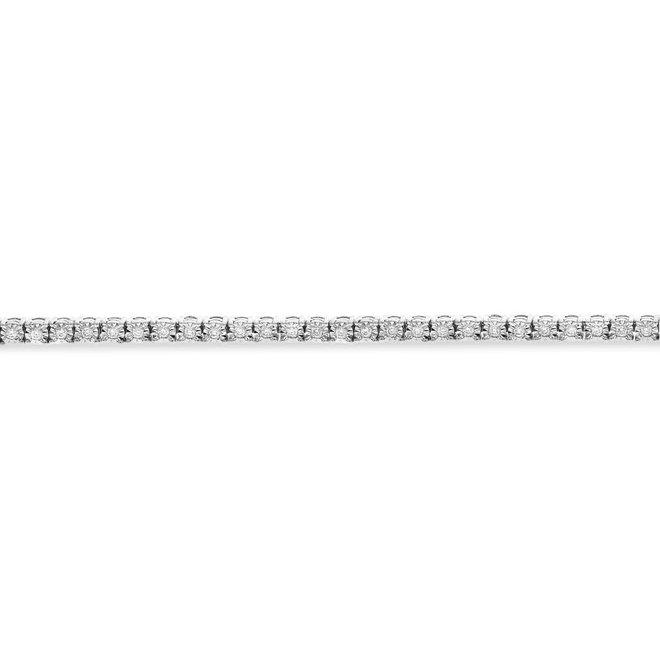 Classic diamond tennis bracelet 0.50ct tw