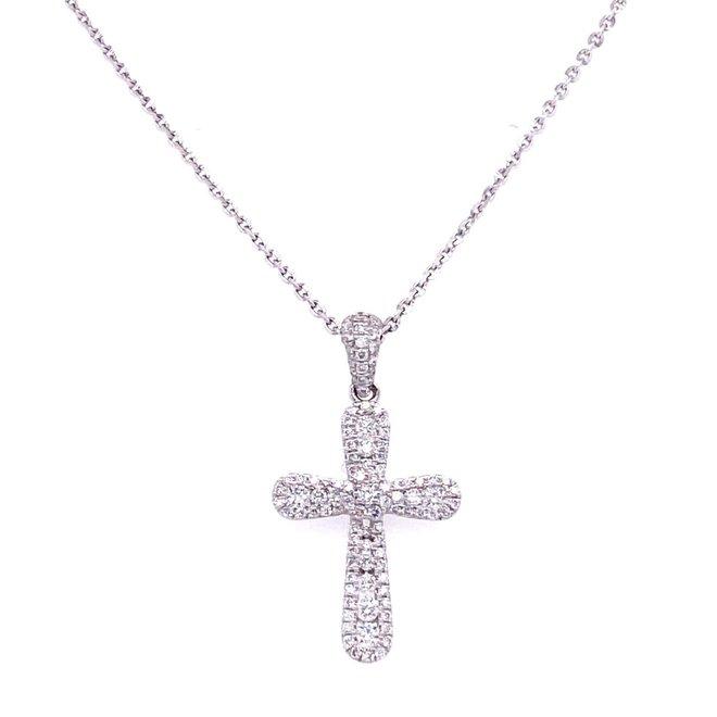 Multi row diamond cross