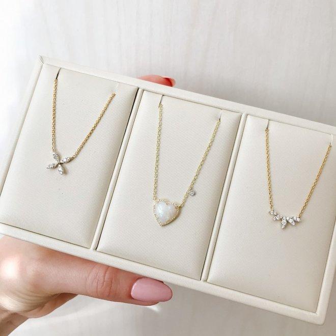 Diamond crown pendant