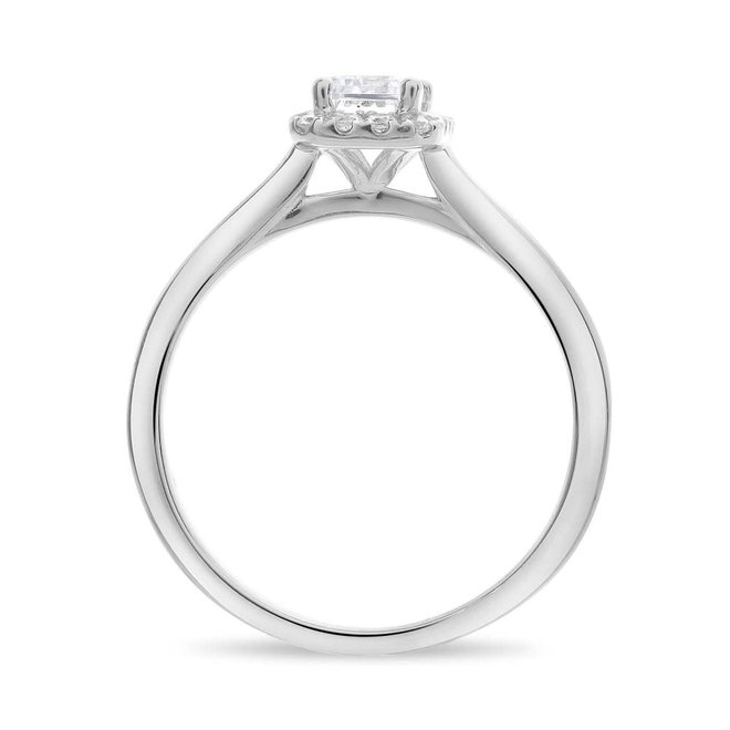The Ellie-Emerald Cut Engagement Ring