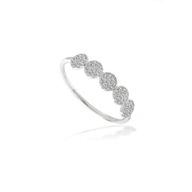 Pave Disc Ring