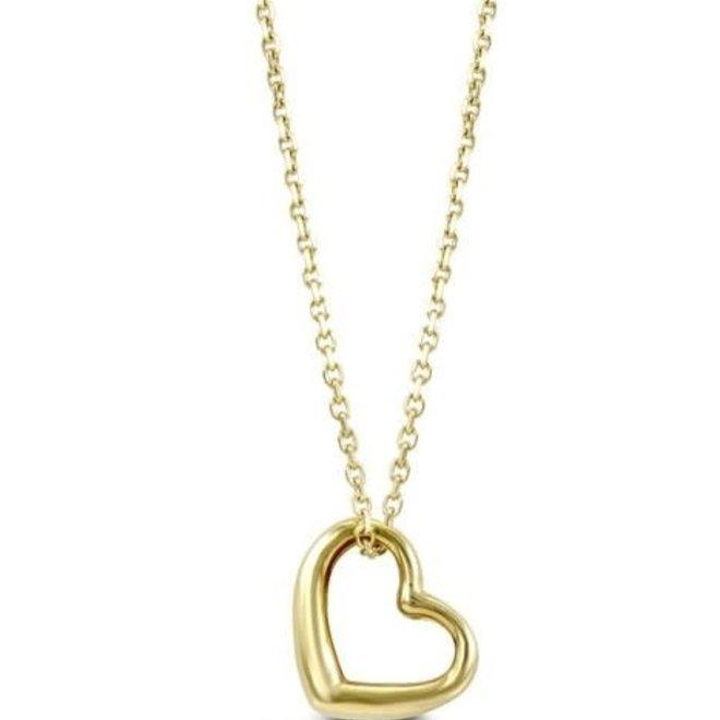 Yellow Gold Heart Pendant