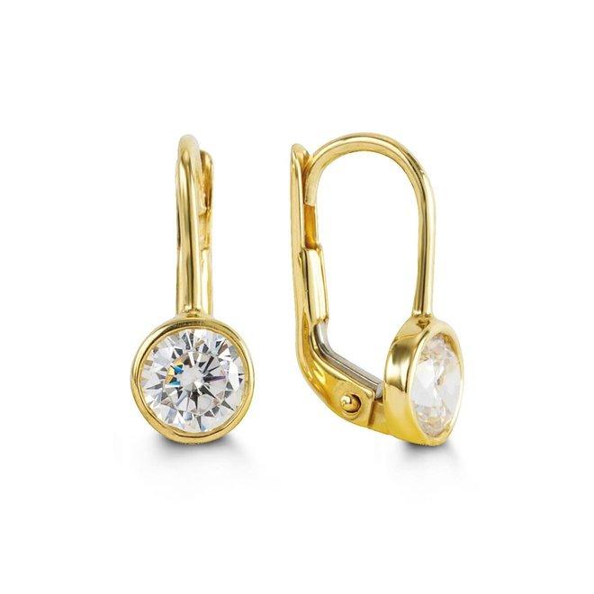 Birthstone earrings - April