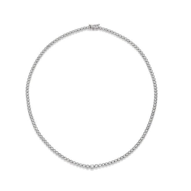 Diamond collar necklace