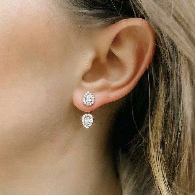 Sterling silver ear huggers