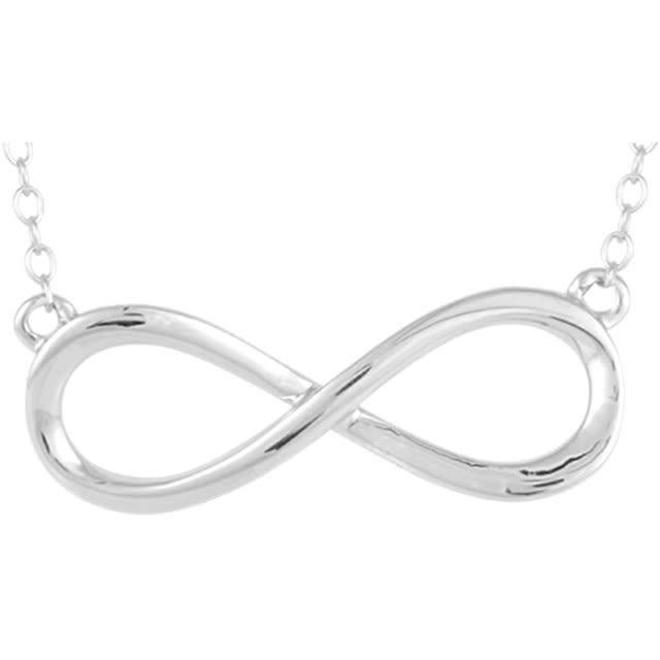 Infinity pendant and chain