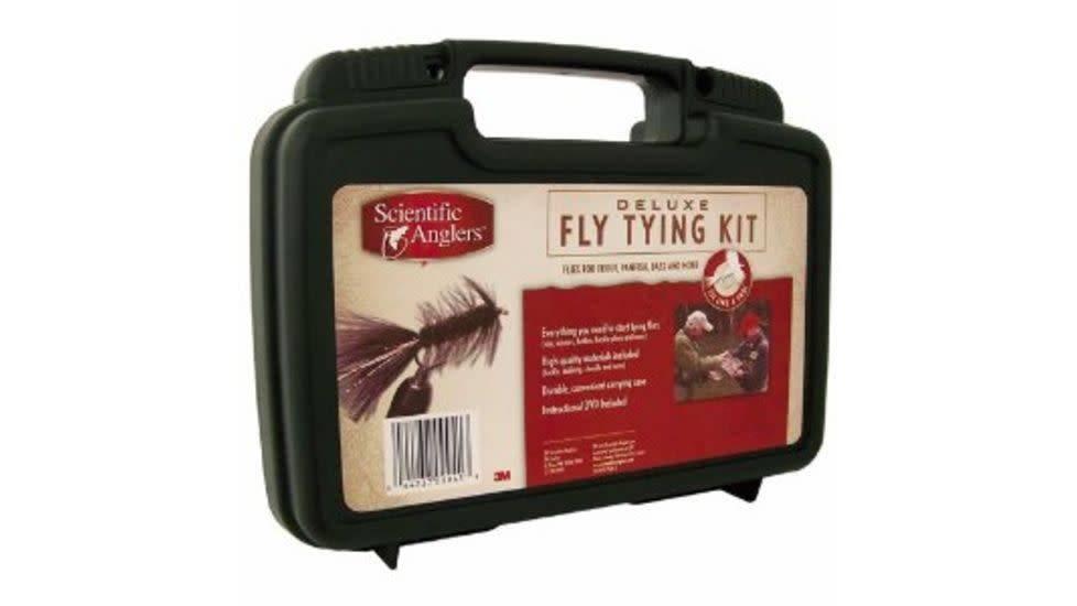 Scientific Anglers Deluxe Fly Tying Kit Big Sky Montana
