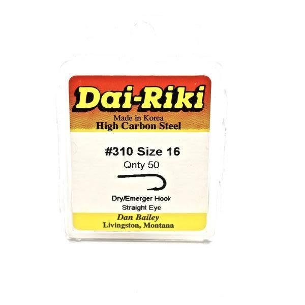 DAI-RIKI Dai-Riki #310 Dry/Emerger Hook