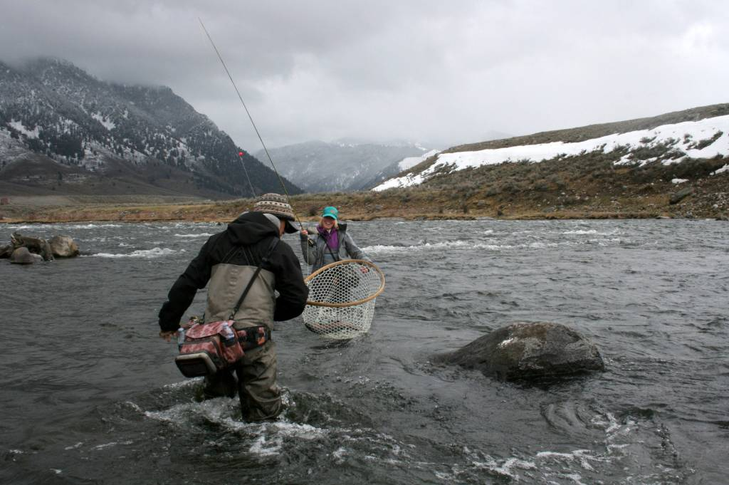 Winter Fly Fishing: Big Sky Has It