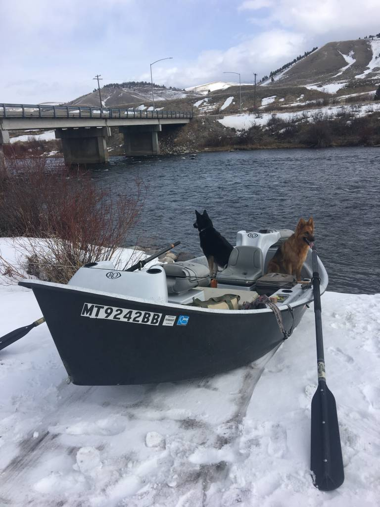 Big Sky Montana Powder Days and Dry Flies