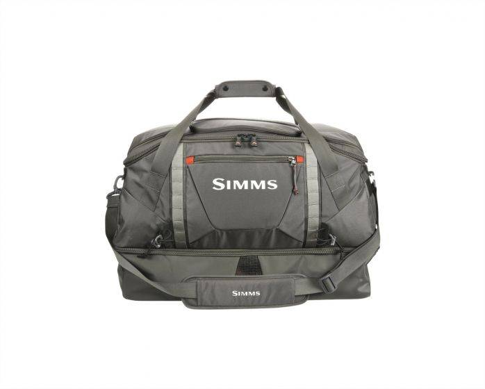 Simms Fishing Products Simms Essential Gear Bag  90L Coal